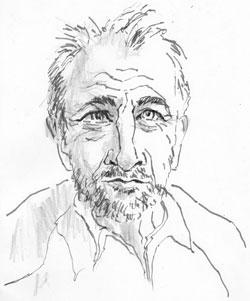 Dr. Roland Meyer-Petzold,  ©  skizziert von Christine Kaiser