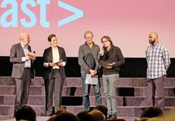 Der Open Frame Award im Wettbewerb für Experimentalfilm und Videokunst, dotiert mit 5.000 Euro, stiftete die  BHF-BANK. D.v. Goddenthow © massow-picture