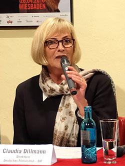 Claudia Dillmann, Direktorin des Deutschen Filminstituts, © massow-picture