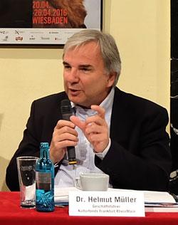 Dr. Helmut Müller, Geschäftsführer des Kulturfonds Frankfurt RheinMain , © massow-picture