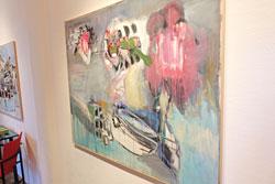 """Engelbert Müller aus der Ausstellung """"Jenseits der Sprache"""", noch bis zum 5. Juni 2016 in der Thalhaus-Galerie . Foto:© massow-picture"""