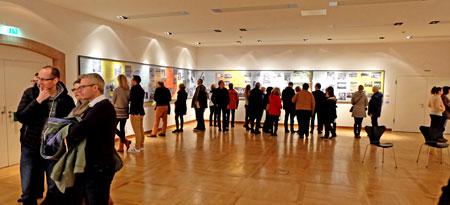 Zur diesjährigen Nacht der Museen zeigte das Institut für Stadtgeschichte die Sonderausstellung Frankfurt in den 50er Jahren. © massow-picture
