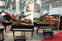 Konzertflügel und Klaviere in Halle 9.0 Classic meets Keys. © massow-picture
