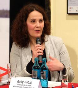 Gaby Babic, Festivalleiterin,© massow-picture