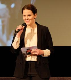Gabi Babic, Festivalleiterin von goEast. D.v. Goddenthow © massow-picture