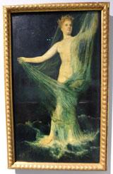 """Sonderausstellung """"Aus dem Neunzehnten""""  """"Von Schadow bis Schuch"""" hier: Arnold Böcklin 1827 - 1901 Venus Anadyomene (Grüne Venus) Foto:© massow-picture"""