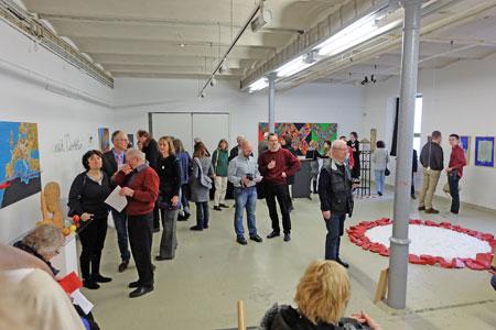Ausstellung der Künstler Gruppe Nahe © massow-picture