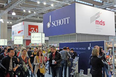 Halle 8 Großes Gedränge herrschte auch bei den Musikverlagen. © massow-picture