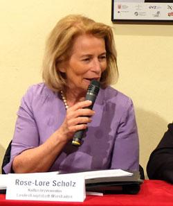 Rose-Lore Scholz, die Kulturdezernentin der hessischen Landeshauptstadt Wiesbaden © massow-picture