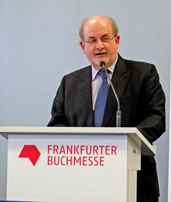 Salman Rushdie auf der Frankfurter Buchmesse 2015 © massow-picture