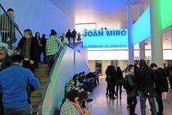 """Besucher- Magnet war auch wieder die Schirn mit ihren Ausstellung """"Ich"""" und """"Joan Miro"""", die noch bis zum 12. Juni zu besichtigen ist. © massow-picture"""