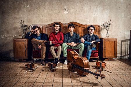 vision string quartet Mittwoch 24. August 2016