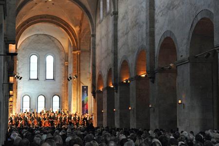Eröffnungskonzert in der Basilika von Kloster Eberbach © Rheingau Musik Festival