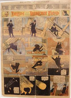 """Aus Winsor McCays """"Dream of the Rarebit Fiend"""". Der Strip erschien ab 1908 dreimal wöchentlich. Bereits 20 Jahre vor Dali und Magritte erfand er den Surrealismus. © massow-picture"""