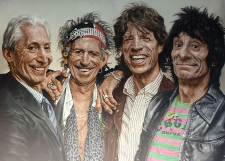 Charles & Company (The Rolling Stones, 270 x 200, 2009) © Sebastian Krüger Foto: © massow-picture