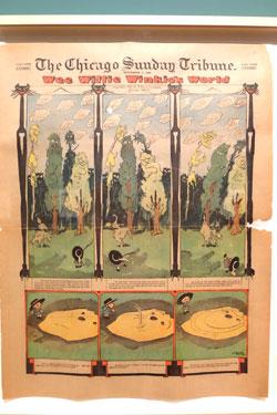 Wee Willie Winkie's World. Sonntagsseiten 1906 Zeitungsdruck Sammlung Achim Moeller, New York. © massow-picture