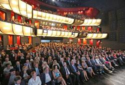 Das Mainzer Staatstheater war bis auf den letzten Platz belegt.