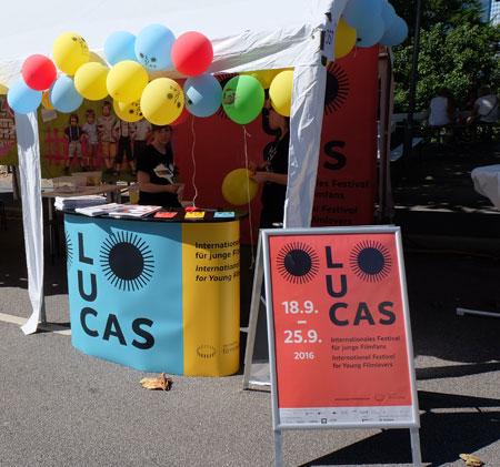 Kinder- und Jugendfilmfestival Lucas präsentiert sein neues, breiter aufgestelltes Programm auf dem Frankfurter Museumsuferfest Foto: Diether v. Goddenthow © massow-picture