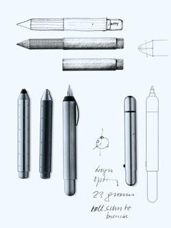 Lamy Pico Designskizzen Prototypen