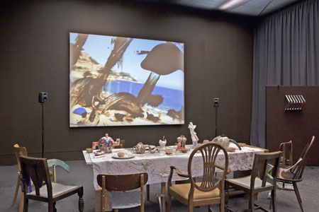 Video Installation, Courtesy of the artist and MOT International, London & Brussels, Foto: Tim Bowditch