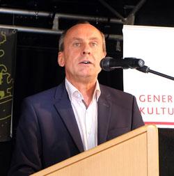 Prof. Dr. Konrad Wolf, Minister für Wissenschaft, Weiterbildung.  Foto: Diether v. Goddenthow © massow-picture
