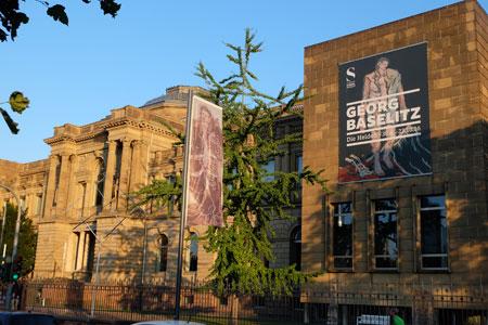 """Städel Museum """"Das ist einfach ein Ort, wo man gern hinkommt!"""" Foto: Diether v. Goddenthow © massow-picture"""