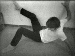 Schirn Pressefoto Giacometti Nauman. Nauman Wall Floor Positions 1968
