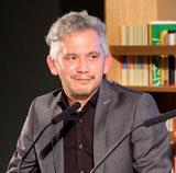 André Kubiczeck, Shortlist-Autor von Skizzen eines Sommers (Rowohlt-Verlag),Foto: Diether v. Goddenthow © atelier-goddenthow