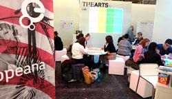 The Artis + Mal- und Gestaltungswettbewerb am Stand Arts-Lab. Foto: Diether v. Goddenthow © atelier-goddenthow