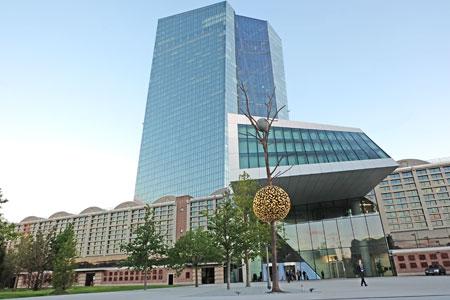 Europäisches Zentralbank - Frankfurt am Main. Foto: Diether v. Goddenthow © atelier-goddenthow