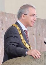 Oberbürgermeister Peter Feldmann. Foto: Diether v. Goddenthow © atelier-goddenthow