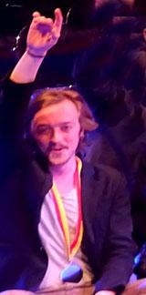 Stepan Melnyk aus der Ukraine an den Strapaten holte den Preis des Wiesbadener Kuriers.