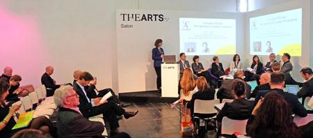 Die digitale Kultur- und Kreativindustrie hat ihren Marktplatz. Foto: Diether v. Goddenthow © atelier-goddenthow gefunden. Veranstaltungsbühne von TheArts.