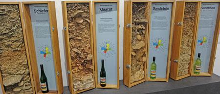 Böden haben Einfluss auf den Charakter von Gemüse und Früchten, insbesondere des Weines. Foto: Diether v Goddenthow