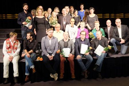29. Wiesbadener exground Filmfest.  Preisverleihung. Foto: Diether v Goddenthow