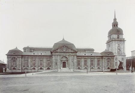Aussensicht um 1906