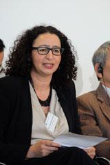 Prof. L. Messari-Becker, Jury-Sprecherin. Foto: Diether v. Goddenthow © atelier-goddenthow