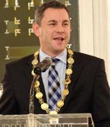 Oberbürgermeister Sven Gerich. Foto: Diether v Goddenthow