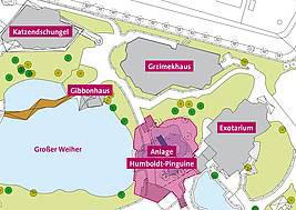 Übersichtsplan der Baustelle. © Tilman, Lange, Braun u Schlockermann Architekten