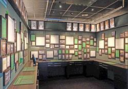 Kabinett Deutsche Bundesbank im neuen Geldmuseum. Foto: Diether v. Goddenthow