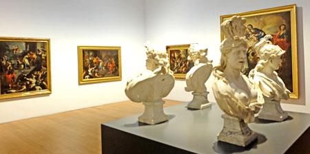 Museum Wiesbaden Ausstellungsansicht: Caravaggios Erben Barock in Neapel 14 Okt 2016 — 12 Feb 2017 Foto: Diether v. Goddenthow © atelier goddenthow