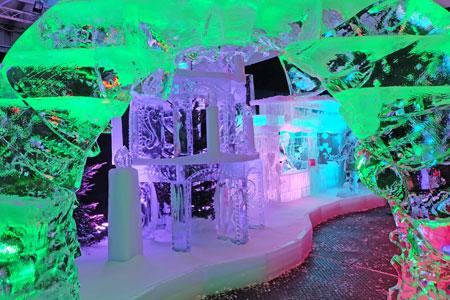 Fantastische Eiswelt Mainz.Foto: Diether v. Goddenthow © atelier goddenthow