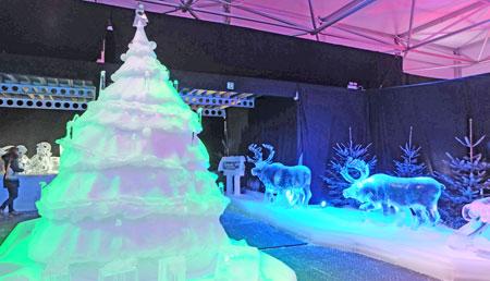 Fantastische Eiswelt Mainz Foto: Diether v. Goddenthow © atelier goddenthow