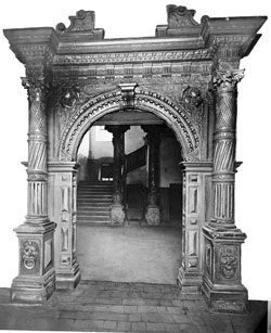 Portal im Stadioner Hof © GDKE Rheinland-Pfalz – Landesmuseum Mainz (Foto: Ursula Rudischer)