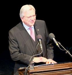 Volker Bouffier, Hessischer Ministerpräsident. Foto: Heike v. Goddenthow