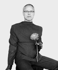 Nemes, Loredana (*1972), Philip, 2016, 2016, Aus der Serie: Nadelstreifen / Pinstripe