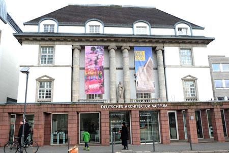 Deutsches Architektur-Museum Frankfurt. Foto: Diether v. Goddenthow  © atelier-goddenthow
