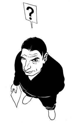 Marc-Antoine Mathieu Autoportrait © Marc-Antoine Mathieu