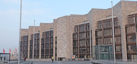 Mainzer Rathaus Foto: Diether v. Goddenthow  © atelier goddenthow