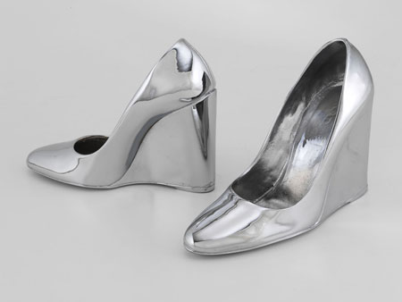 Sylvie Fleury Prada Shoes, 2003 © Courtesy of the artist and Sprüth Magers